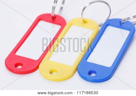 Collection Of A Colourful Key Fobs