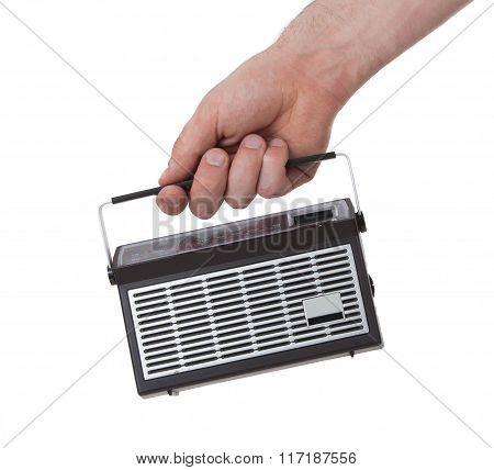 Small Pocketradio, Isolated