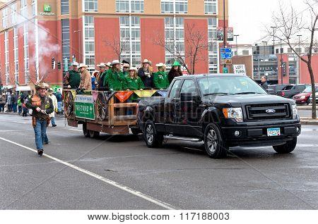 West Wind Motorcade In Winter Carnival