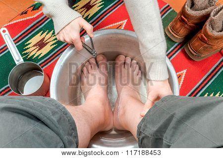 Male Toenails Treatment