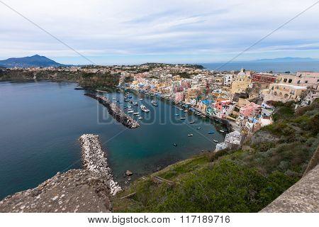 Procida,seaview, Italy