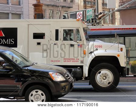 Loomis Armored Truck