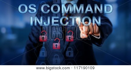 Corporate User Touching Os Command Injection