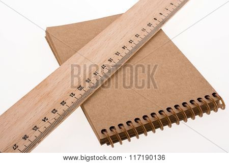 Ruler And Notebook