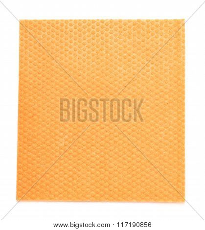 Kitchen wipe cloth isolated