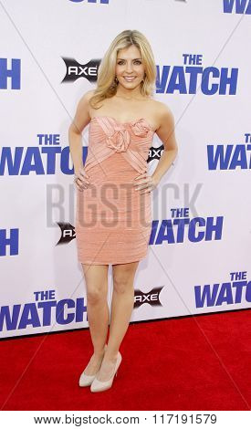 Jen Lilley at the Los Angeles premiere of