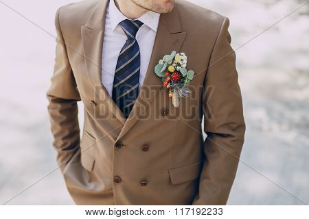 groom wedding suit