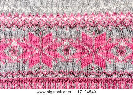 Crochet fabric pattern