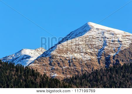 The Peaks Of The Caucasus Mountains