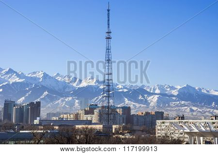 View Of Almaty City