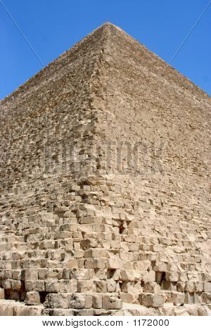 Close View  Of A Pyramid
