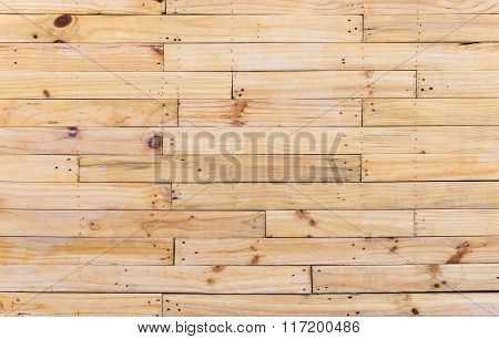 Horizontal Wooden Wall Texture Background