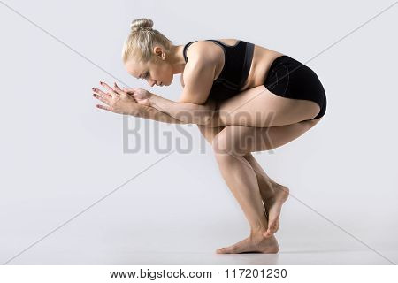 Variation Of Eagle Pose