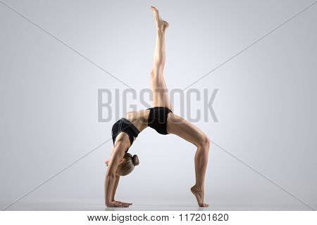 One-legged Bridge Pose