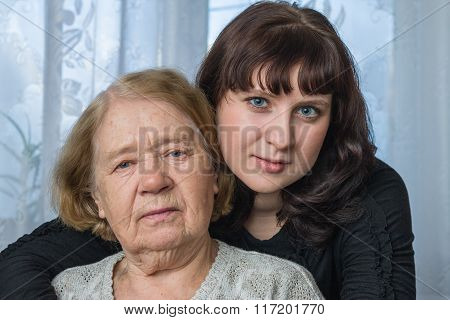 The Grandmother And The Granddaughter