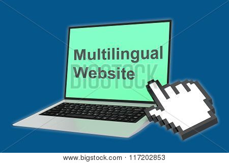 Multilingual Website Concept