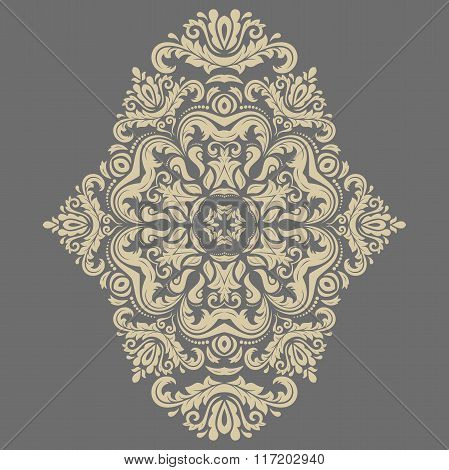 Elegant Vector Ornament in the Style of Barogue