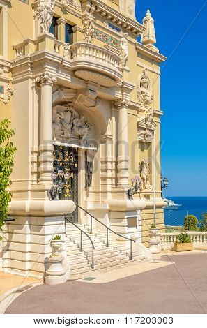 Fragment of Grand Casino in Monte Carlo, Monaco.