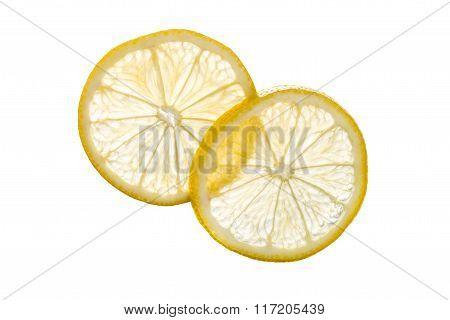 Transparent Lemon Slices