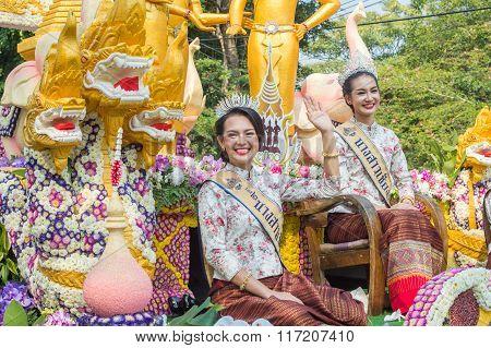 Chiang Mai Flower Festival Parade 2016