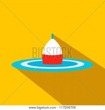 Bobber flat icon