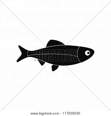 Fresh raw fish icon