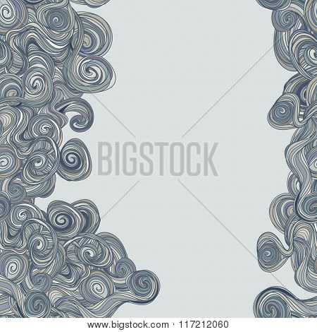 Hand-drawn Abstract Seamless Pattern