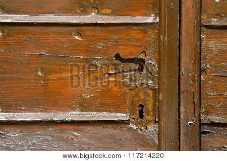Samarate  Abstract   Rusty Brass   Wood   Varese
