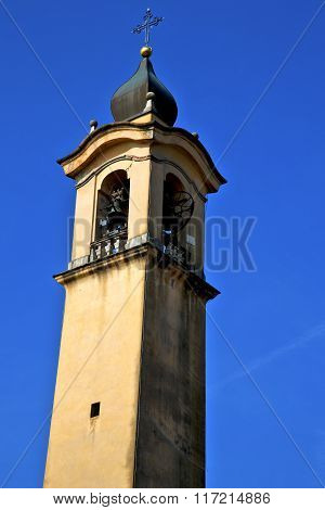 Old Abstract In  Italy   And Church Tower   Vinago