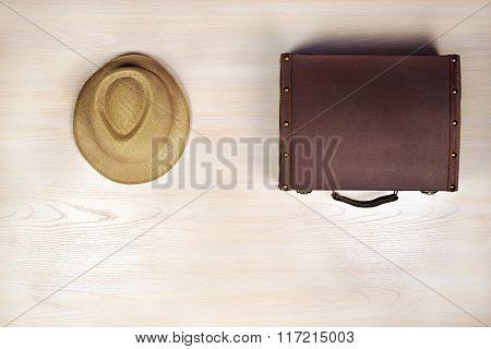 Set Of Travel Items.