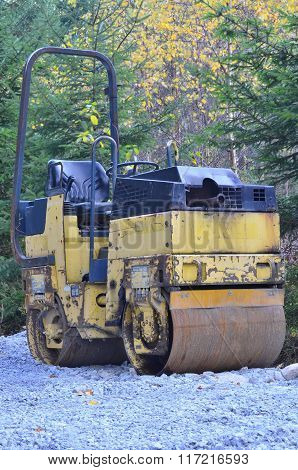 Small Road Roller , Southern Bohemia