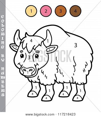funny coloring by numbers game.