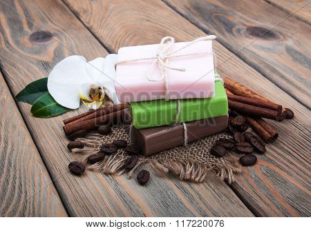 Handmade Coffee Scented Soap