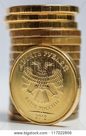 Russian ruble macro.