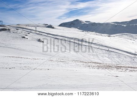 Apennine Winter Landscape