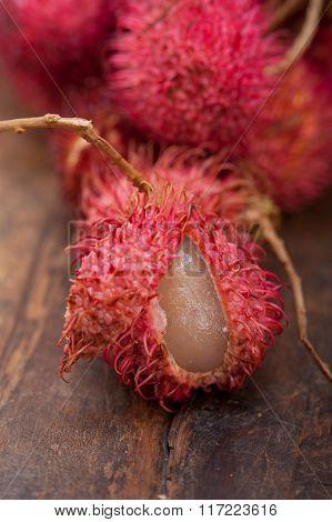 Fresh Rambutan Fruits