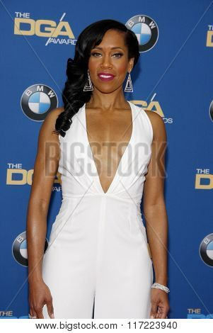 Regina King at the 68th Annual Directors Guild Of America Awards held at the Hyatt Regency Century Plaza in Los Angeles, USA on February 6, 2016.