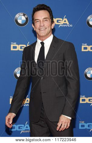 Jeff Probst at the 68th Annual Directors Guild Of America Awards held at the Hyatt Regency Century Plaza in Los Angeles, USA on February 6, 2016.