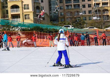 Daemyung Vivaldi Park ski resort