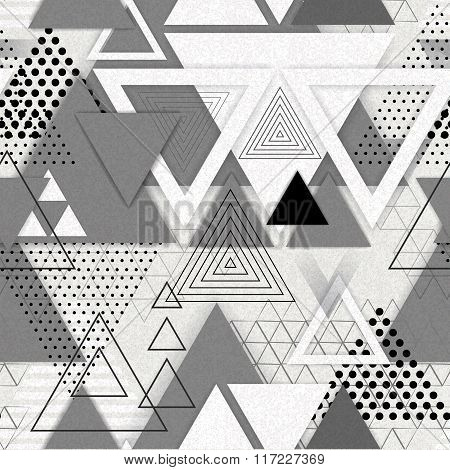 Abstract hipster polygon triangle background. Triangle pattern
