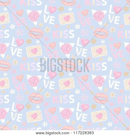 Kiss and Love pattern