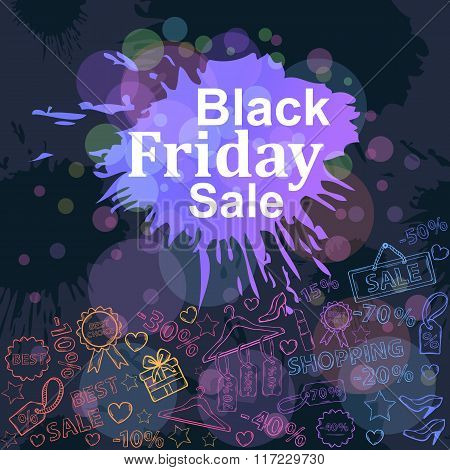 Black friday sale card