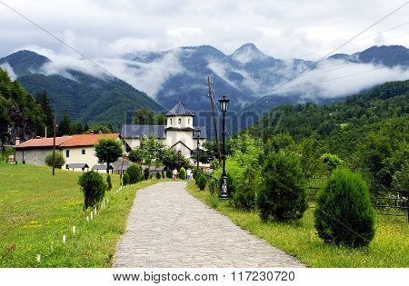 Landscape Of Montenegro - Church In Mountains