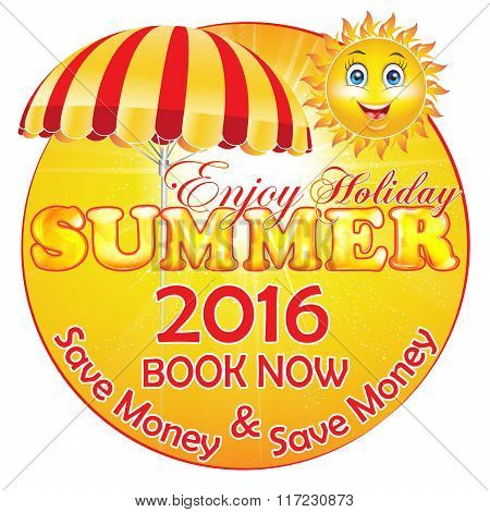 Summer Holiday 2016 Package Discounts Label