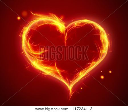 Bright Fiery Heart