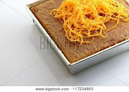 Thai Custard Sweet Cake