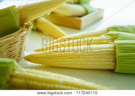 Clean Baby Corns For Cooking