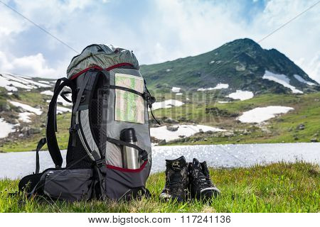 Hiking Outdoors