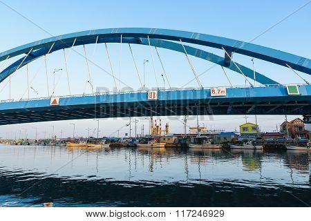 Bridge over river  in Korea.