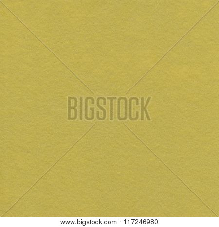 Mustard felt as background or texture.
